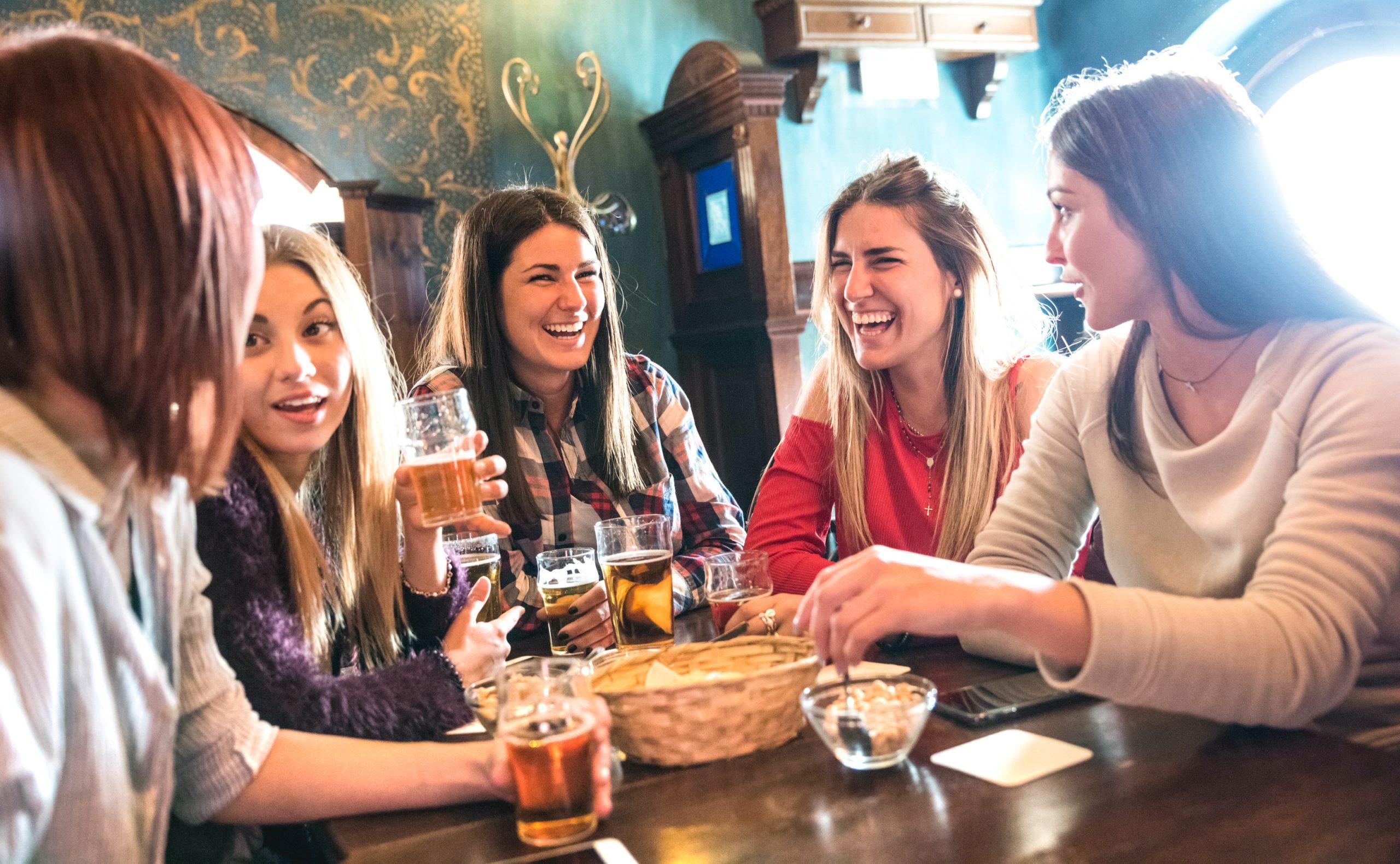 Image of Women Socializing